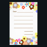 "Lined Blank Kids Note Paper<br><div class=""desc"">Wide lined writing paper for kids.  Decorated with fun designs and lines for young children to write their own &quot;thank you&quot; notes,  or say hello to friends and relatives.</div>"