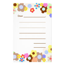 Lined Blank Kids Note Paper