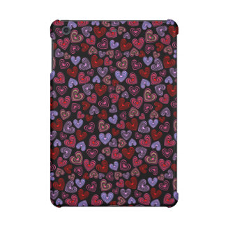 Lined Hearts iPad Mini Cases