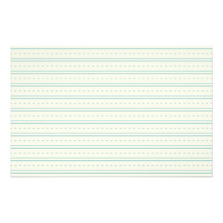 Lined Paper for Printing and Writing Practice Stationery