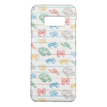 Lined Paper Spaceship Doodle Pattern Case-Mate Samsung Galaxy S8 Case