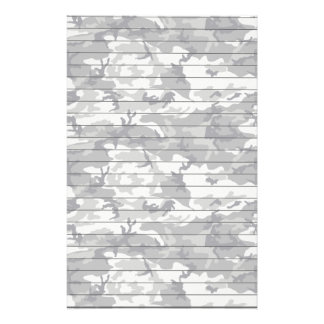 Lined Paper With Urban Camo