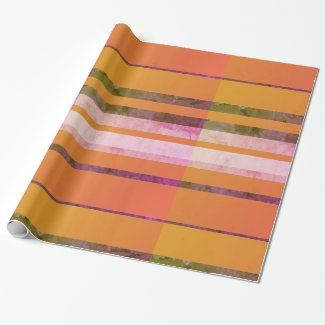 Lined Pattern Wrapping Paper
