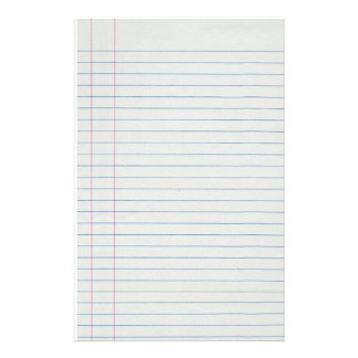 Lined School Paper Background