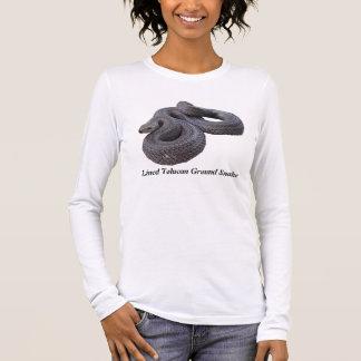 Lined Tolucan Ground Snake Ladies Long Sleeve Long Sleeve T-Shirt