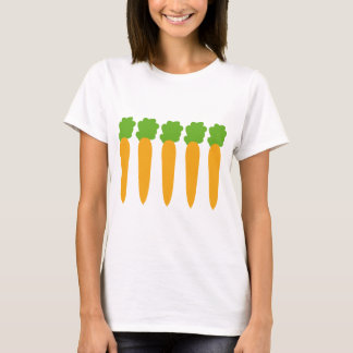 lined up carrots T-Shirt