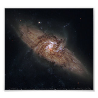 Lined-Up Galaxies Poster