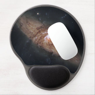 Lined-Up Galaxies Show Rare Details (NGC 3314) Gel Mouse Pad