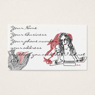 linegirl business card