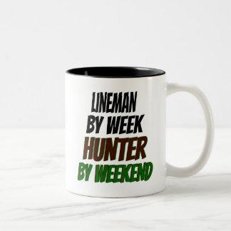 Lineman Hunter Mug