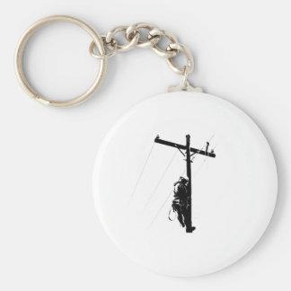 Lineman Keychain
