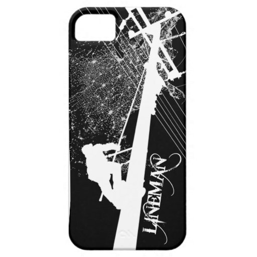 Lineman Power It Up Phone Case iPhone 5/5S Cover