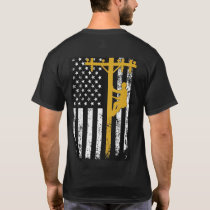 Lineman T-Shirt Yellow