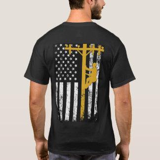 Lineman T-Shirt Yellow