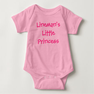 Lineman's Little Princess Baby Bodysuit