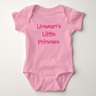 Lineman's Little Princess Baby Bodysuit