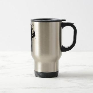 Linemen Because Travel Mug
