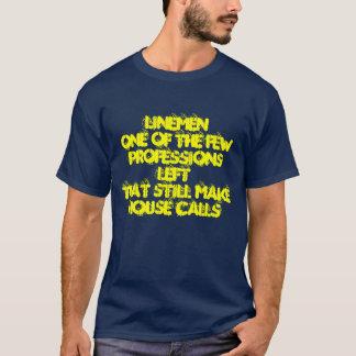 LinemenOne of the few professions leftthat stil... T-Shirt