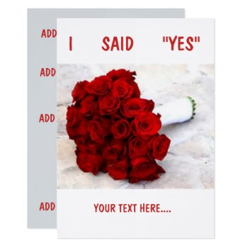 """Linen 5"""" X 7""""  Standard White Envelopes Included Card by CREATIVEWEDDING at Zazzle"""
