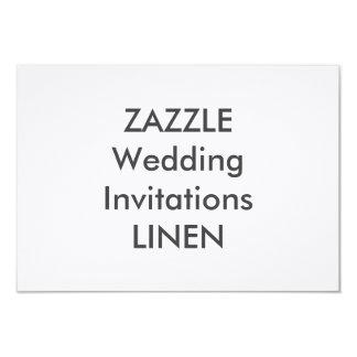 "LINEN 6.25"" x 4.5"" Wedding Invitations"