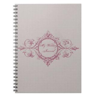 Linen and Cinnamon Wedding Journal