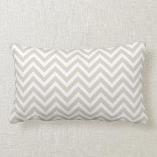 Linen Beige Chevron Pillows