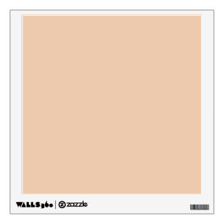 Linen Beige Trend Color Customized Template Blank Room Decals