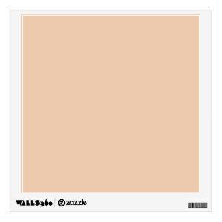 Linen Beige Trend Color Customized Template Blank Room Decals