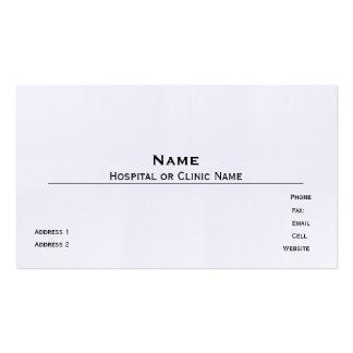 Linen Business Card Template