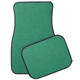 Linen Canvas seamless pattern 3 + your ideas Car Floor Mat