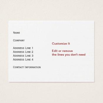 Linen Card by DigitalDreambuilder at Zazzle