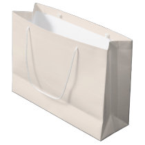 Linen-Colored Large Gift Bag