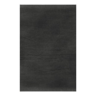 Linen Fabric Background Texture / Chalkboard Black Stationery