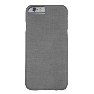 Linen Fabric Background Texture // Platinum Grey iPhone 6 Case