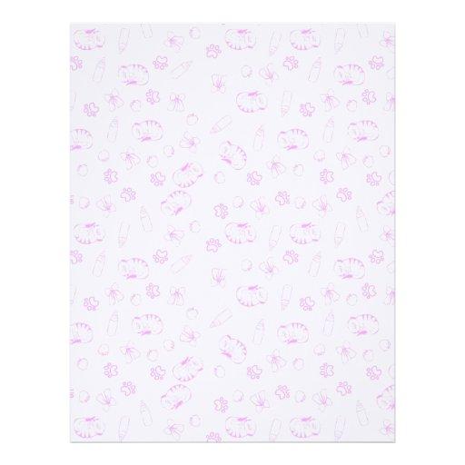 baby letterhead paper linen finish paper meerkats baby pink letterhead zazzle baby letterhead paper