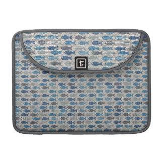 Linen Fish MacBook Pro Sleeve