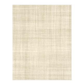 Linen Look Paper Background Flyer