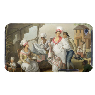 Linen Market, Roseau, Dominica, c.1780 (oil on can Barely There iPod Cover