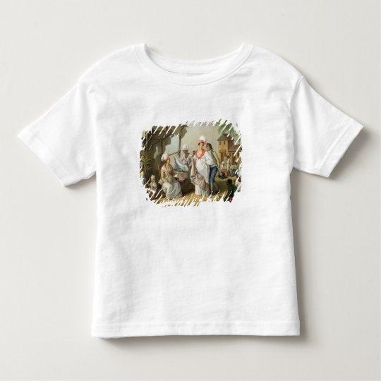 Linen Market, Roseau, Dominica, c.1780 (oil on can Toddler T-shirt