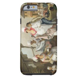 Linen Market, Roseau, Dominica, c.1780 (oil on can Tough iPhone 6 Case