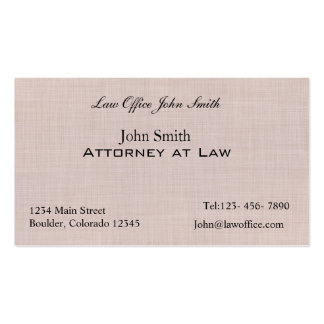 Linen texture pattern Double-Sided standard business cards (Pack of 100)