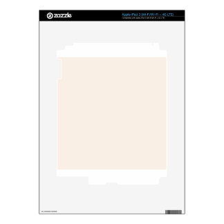 Linen White Decal For iPad 3