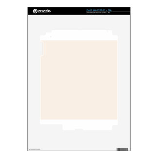 Linen White Skins For iPad 2