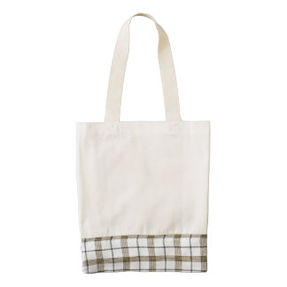 Linen White Zazzle HEART Tote Bag