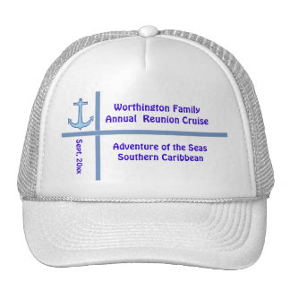 Liner Anchor Group Cruise Hats
