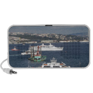 Liner and Ferry In The Bosphorus iPhone Speakers