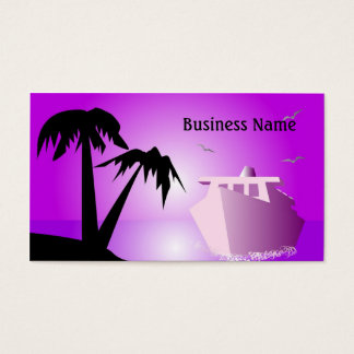 Liner and island business card