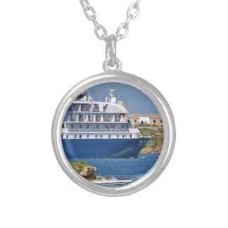 Liner Entering Mahon Silver Plated Necklace