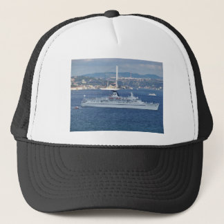 Liner Ocean Monarch on the Bosphorus. Trucker Hat