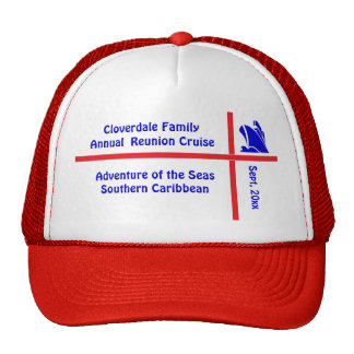 Liner Ship Group Cruise Trucker Hat